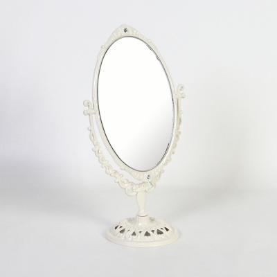 큐티메탈 로제 타원 화장대 거울 미디움-3색상