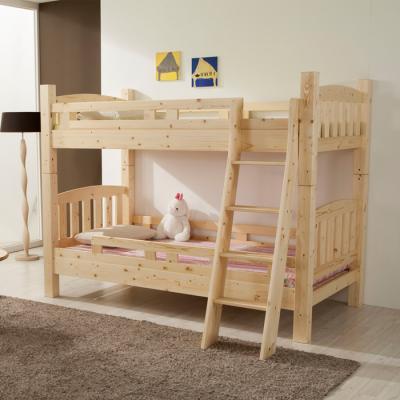유럽형 원목 이층(분리가능) 침대 (슬림매트) B06