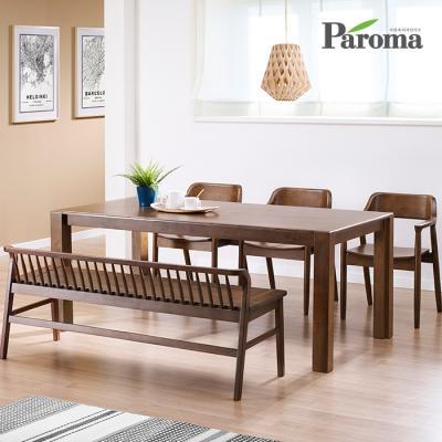 파로마 소피아 6인 벤치형 식탁세트 IR05