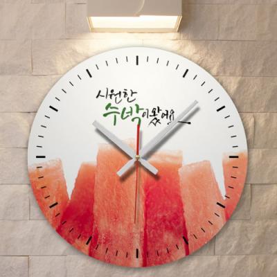 id672-시원한수박_인테리어벽시계