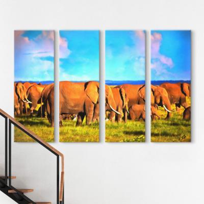 cq154-코끼리들의이동_대형노프레임세트
