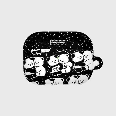 Cookie cream pattern-black(에어팟프로 하드)