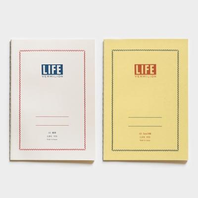 [LIFE] 버밀리온 노트 A5