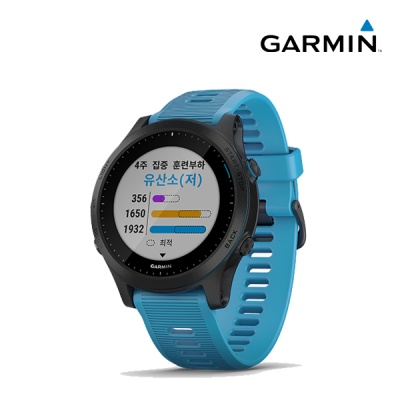 가민 포러너 945 GPS 러닝 스마트워치(블루)