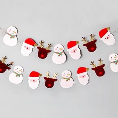 [인디고샵]  산타와 친구들 가랜드