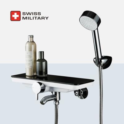 스위스밀리터리 선반형 샤워수전 (샤워기거치 개별형)