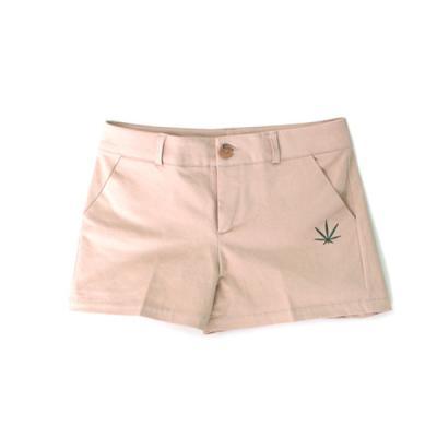 츄바스코 M. Pants Basic short Beige W M17204