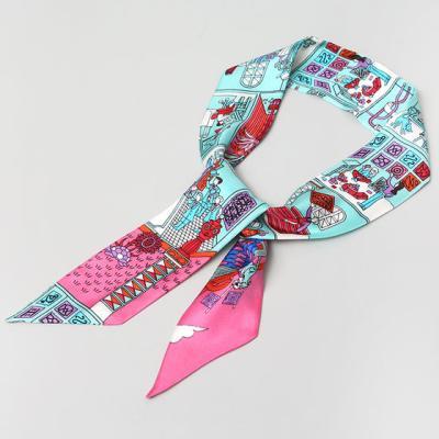 Silk Story Petit Tie Scarf