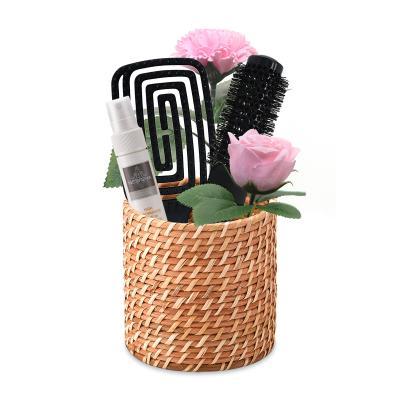 라탄 꽃바구니 헤어브러쉬 에센스세트