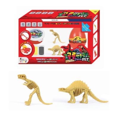 7000 공룡만들기 클레이 레드SET
