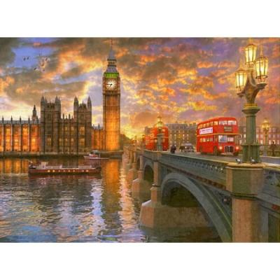 500조각 직소퍼즐▶ 런던의 노을 (HP507)