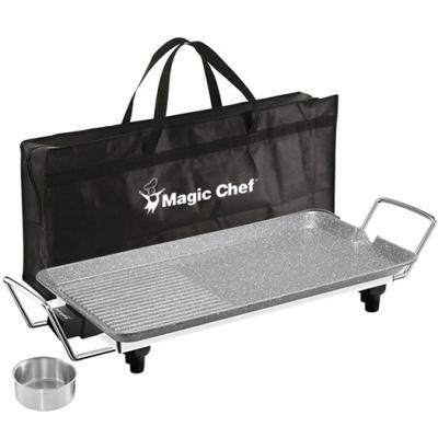 매직쉐프 대형 와이드 전기 그릴 MEG-XH66G + 휴대용가방