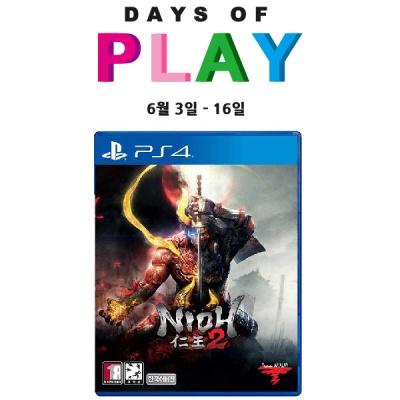 PS4 인왕2 (Nioh2) 한글판