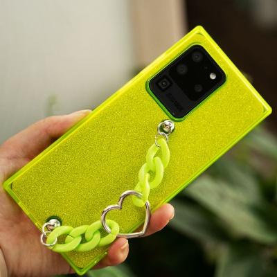 아이폰 11pro max/프로/se2 투명 젤리 스트랩케이스
