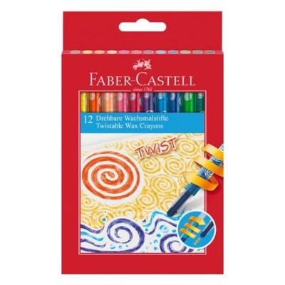 파버카스텔 트위스터블 색연필 12색(120003)