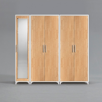 모렌 선반 장롱세트 거울도어형 2000 (착불)
