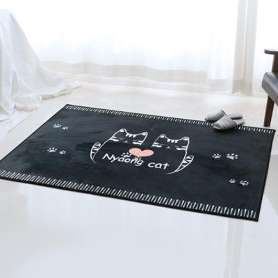 주노데코 극세사 고양이 카페트 100x150cm
