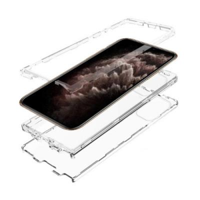 뮤즈캔 아이폰11프로맥스 360도 풀커버 탱크방탄 케