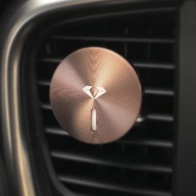 자동차 디퓨져 차량용 메탈 방향제 블랙 다이아몬드