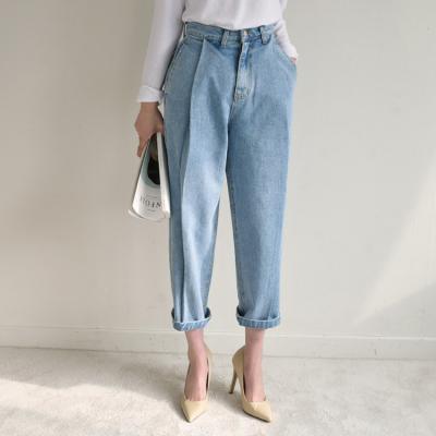 Pintuck Semi Boyfit Jeans