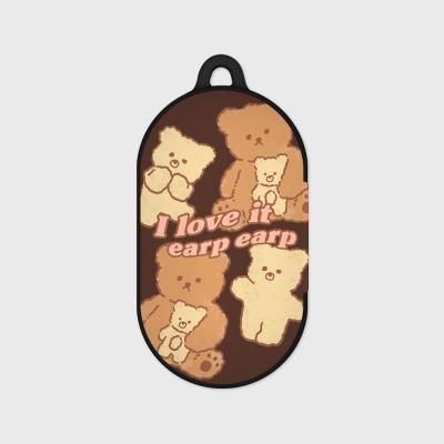 I love it nini-brown(Buds hard case)