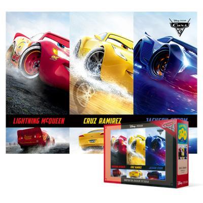 300피스 직소퍼즐 - 디즈니 카3 스톰 레이스