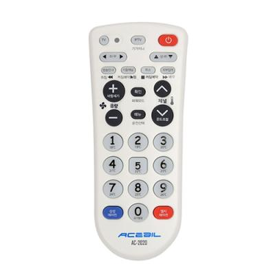 에이스빌 에어컨 TV 통합 리모컨 AC-2020