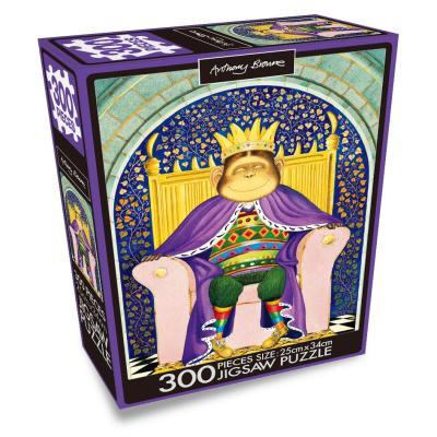 앤서니 브라운 300PCS 직소퍼즐 : 때로는 왕