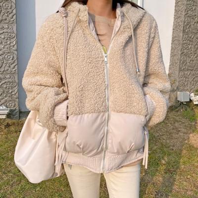 여성 여자 가을 자켓 재킷 메이즈 후드 뽀글이