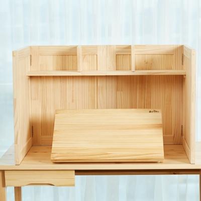 원목 각도조절 독서대 집중력 독서실책상 600 소나무