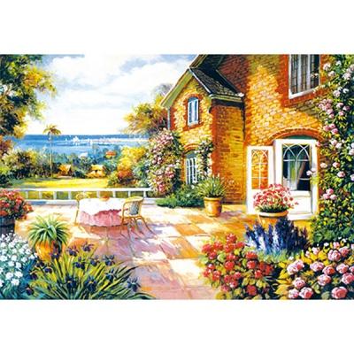 1000조각 목재 직소퍼즐▶ 아름다움이 가득한 정원 [WPK1000-12]