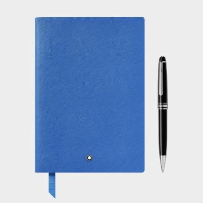 몽블랑 마이스터스튁 클래식 플래티넘 볼펜+노트 세트