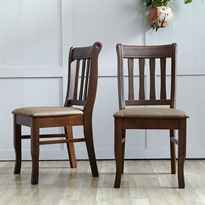 [베스트리빙]데미안 모카브라운 의자 1+1