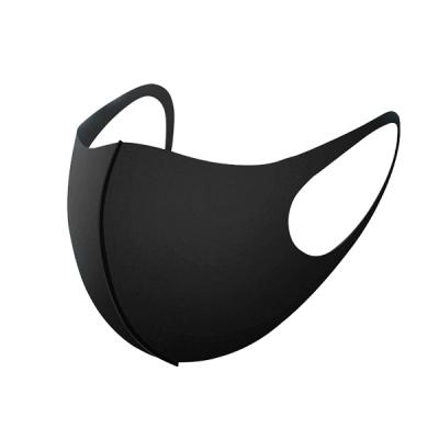 [1+1이벤트] 3D 올블랙 3D 입체 패션 마스크