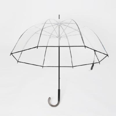 파라체이스 1100 여성 투명 아치형 수동 장우산