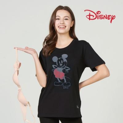 디즈니 브라없이 입는 미키 프린팅 편안티 특가