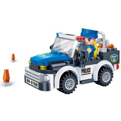 [3D퍼즐마을][반바오] BO7017 경찰차-풀백 모터