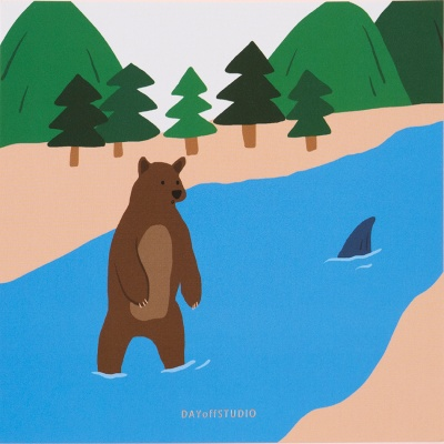 oops_bear 엽서