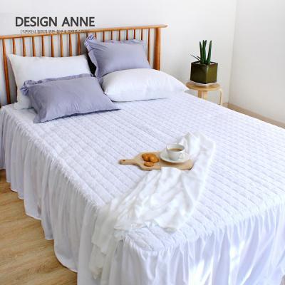 [디자인엔] 알러지케어 모던 침대스커트SS-화이트