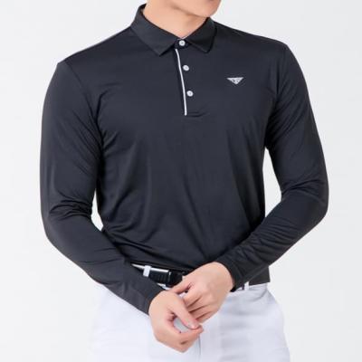 골프웨어 골프복 긴팔 티셔츠 남성 기능성 라운딩 D12