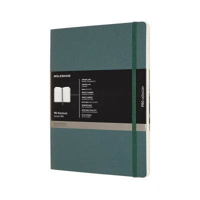 몰스킨 프로 노트/포레스트그린 소프트 XL