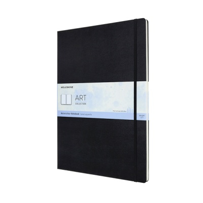 몰스킨 아트컬렉션-워터컬러노트/블랙 A3