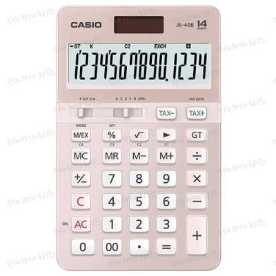 [카시오] 카시오계산기 JS-40B 핑크 [개/1] 352326