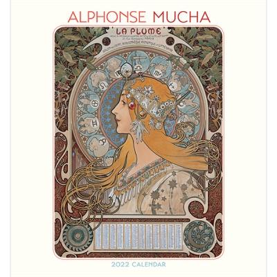 2022 캘린더 Alphonse Mucha