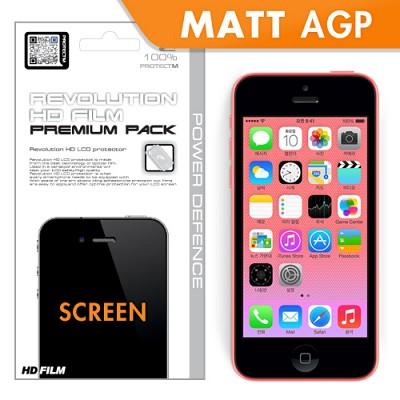 [프로텍트엠/PROTECTM] 아이폰5c/iPhone5c 레볼루션HD 최고급 지문방지 액정보호필름
