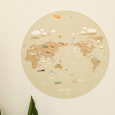 WORLD MAP ver.Circle