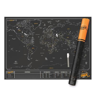 [원더스토어] 럭키스 스크래치 맵 세계지도 초크
