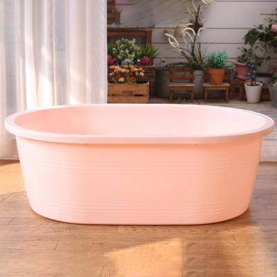 쉼표 하나 핑크 이동식욕조