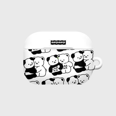 Cookie cream pattern-white(에어팟프로 하드)