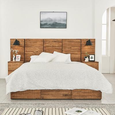 M5102 참죽나무 블록헤드 Q 침대세트